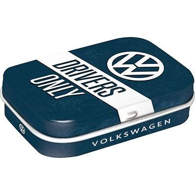DECO : BOITE A PILULES-BONBONS : VW VOLKSWAGEN DRIVERS ONLY