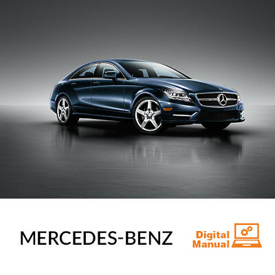 Mercedes Benz   Service And Repair Manual 30 Day Online Access