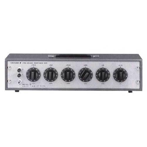 Yokogawa 278620 Six-Dial Decade Resistance Box, 1 to 1111110 Ω