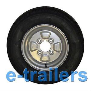 8 trailer wheel tyre 400x8 or 400 8 or 480 6 ply 4 pcd hub 4 stud 345kg ebay. Black Bedroom Furniture Sets. Home Design Ideas
