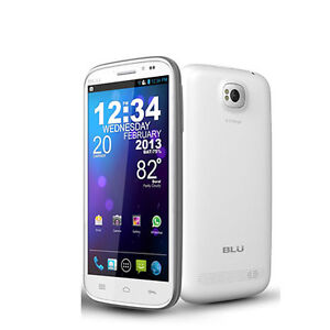 New_BLU_Studio_5_3_Screen_II_2_D550a_White_3G_850_1900_Unlocked_for_any_GSM
