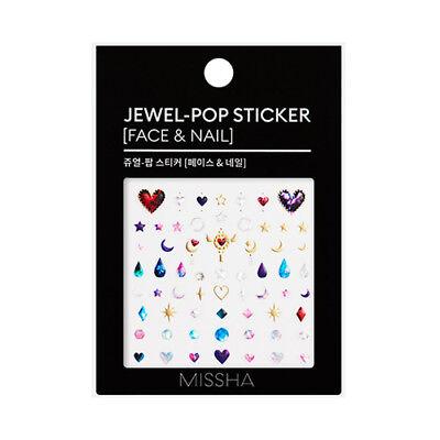 [MISSHA] Jewel Pop Sticker (Face & Nail) - 1pcs