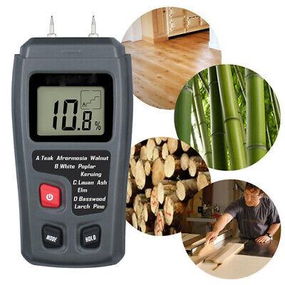 099.9 Digital Wood Moisture Meter Firewood Paper Humidity Tester Hygrometer