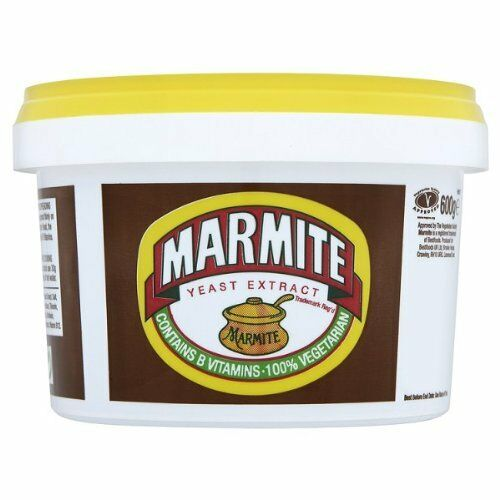 MARMITE 600g LARGE TUB BULK BUY BRITISH FOOD SHOP WORLDWIDE - TRACKED DELIVERY