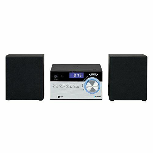 Jensen JBS-200 Bluetooth CD Music System with Digital AM/FM