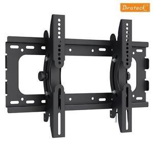 "Brateck 32""-55"" flat tv wall mount with tilt High Quality 75kg"