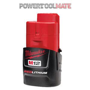 Milwaukee M12B M12B15 12v 1.5Ah Red Lithium-Ion Battery