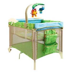 Travel Cot with extra mattress - Fisher Price (Like New) Colyton Penrith Area Preview
