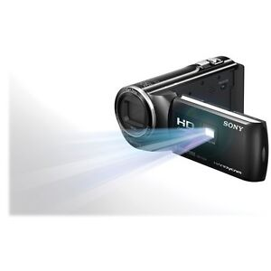 SONY HDR VIDEO CAMERA - USED ONCE- built in projector Carlton Melbourne City Preview