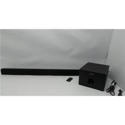 Magnavox MSB4550 40-Inch Sound Bar Speaker with Wired Sub Wo