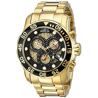 Invicta  Pro Diver 19837  Stainless Steel Chronograph  Watch