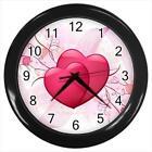 Love & Hearts Wall Clocks