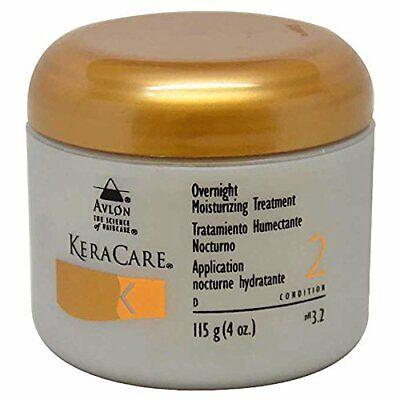 Avlon KeraCare Overnight Moisturizing Treatment, Condition 2, 115g/ 4 oz.