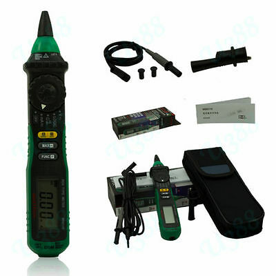 Pen-type Mastech Ms8211d Digital Multimeter Manualauto Range Logic Level Test