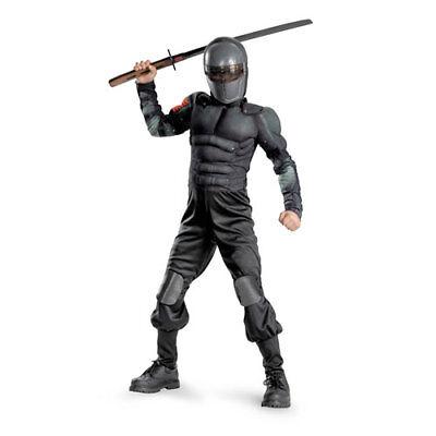 Boys GI Joe Snake Eyes Movie Halloween Costume sz Small 4-6 - Snake Eyes Gi Joe Halloween Costume