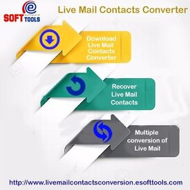 Windows live mail contacts converter software