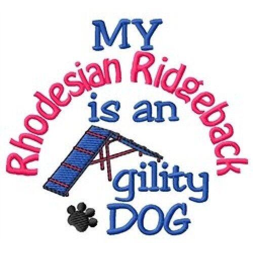 My Rhodesian Ridgeback is An Agility Dog Fleece Jacket - DC1826L Size S - XXL