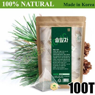 100% Natural Pine Needle Tea Medicinal Herbal 100T Bags Medicinal Korean Herbal
