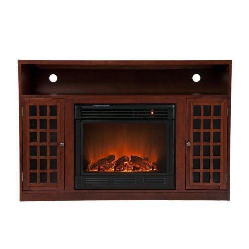 Corner Electric Fireplace | eBay