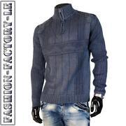 Pullover Reißverschluss