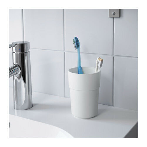 ENUDDEN Tumbler / Toothbrush Holder, white, bathroom, kitche