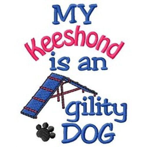 My Keeshond is An Agility Dog Sweatshirt - DC1856L Size S - XXL