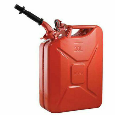5 Gal 20l Gas Gasoline Fuel Army Nato Jerry Can Military Metal Steel Tank Backup