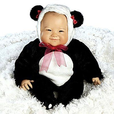 "Lifelike Realistic Asian Newborn Weighted Baby Girls Doll ""Su-Lin"" Alive Reborn"