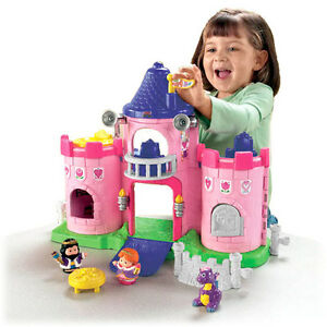 Fisher Price Little People Lil' Kingdom Castle - 3 sets in 1