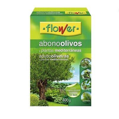 Abono para Olivos y Plantas Mediterráneas FLOWER 800 gr