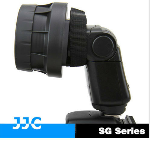 JJC SG-S 3 in1 Stacking Grid Light modifier System for Yongnuo Nikon Canon Flash
