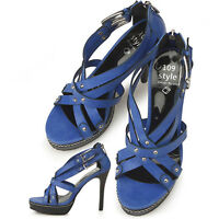 Beautiful Blue Shoes Brand New size 7