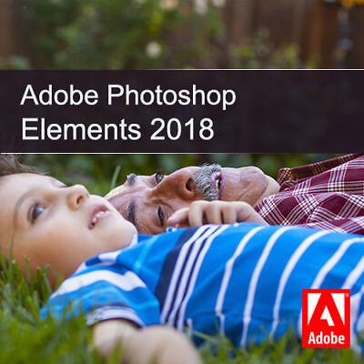 Adobe Photoshop Elements 2018 1 PC | oder Mac Vollversion Download DE EU