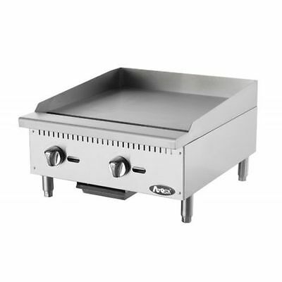 New 24 Flat Griddle Manual Control Commercial Restaurant Duty Lp Propane Gas