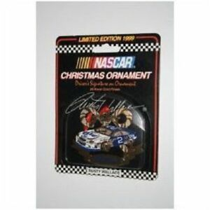 12-Nascar 24 Karat Gold Finish Christmas 1999 Ornament