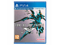 SONY PLAYSTATION PS4 GAME PSVR ZONE OF THE ENDERS THE 2nd RUNNER MARS SEALED PAL