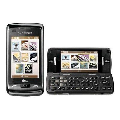 LG enV Touch VX11000 - Black Silver (Verizon) Phone Page Plus Straight Talk