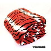 Tiger Print Bedding