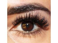 Models required for volume lash extensions