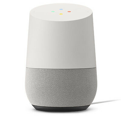 Google Home Personal Assistant Voice Activated Speaker   White   Slate