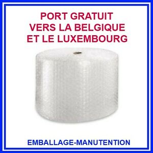 Rouleau Film Papier Bulle 10 Mm Bubblefolie 50 Cm X 50 M