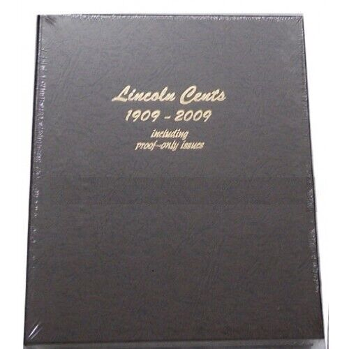 Dansco 8100 Lincoln Cents Album 1909-2009 Including Proof Only