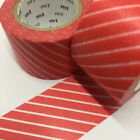 Red Striped Scrapbooking Tapes