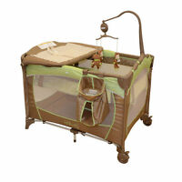 Kidiway Oasis Playard - Brown**Like New**Possible delivery**