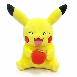 Pokemon Pikachu with apple brand new Tommy