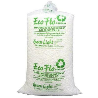 3 Cubic Ft  / 71cm3 Ecoflo Quality Biodegradable Loose Void Fill Packing Peanuts