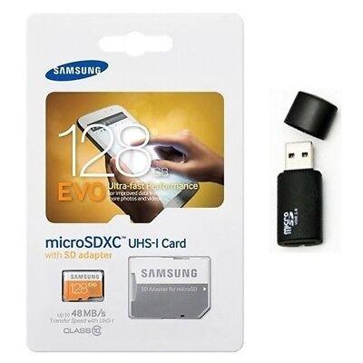Samsung Evo 128gb Microsd Xc Uhs-1 Class 10 Memory Card M...