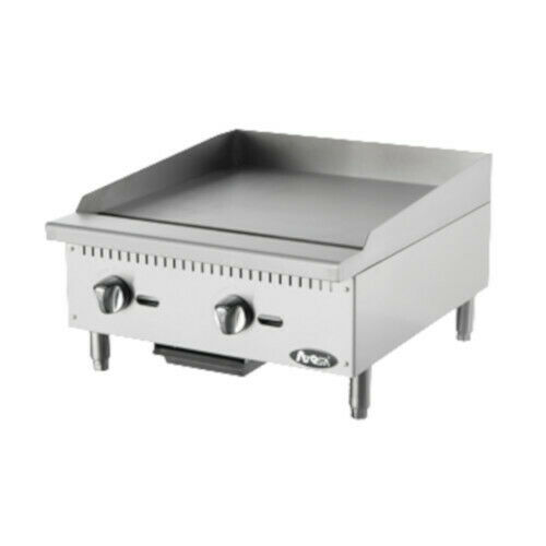 Atosa Atmg-24 Countertop Gas Cookrite Heavy-duty Griddle