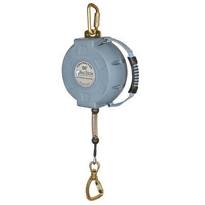 Falltech 727650 50 Ft. Contractor Cable Self-retractable Lifeline Free Us Ship