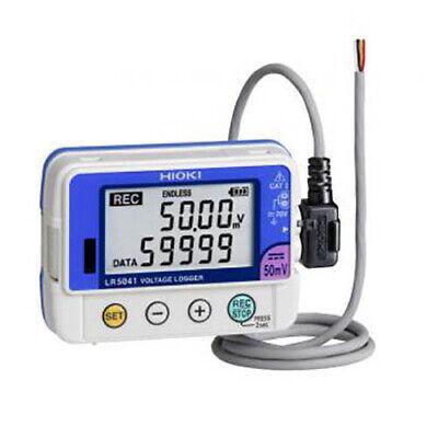 Hioki Lr5042-20 Single Channel Voltage Logger -5v Dc